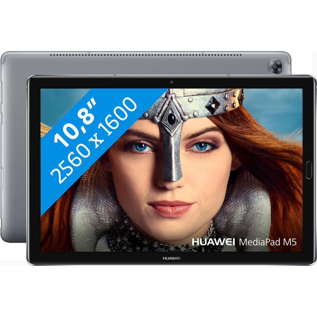 Huawei MediaPad M5 10,8 inch Wifi Grijs in Midbuul