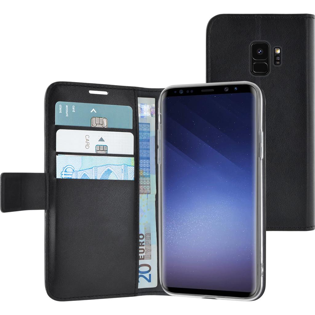 Azuri Wallet Magneet Samsung Galaxy S9 Book Case Zwart in Ooij