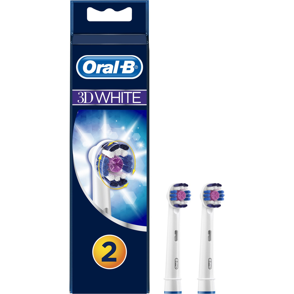 Oral-B 3D White (2 stuks) in Poperinge