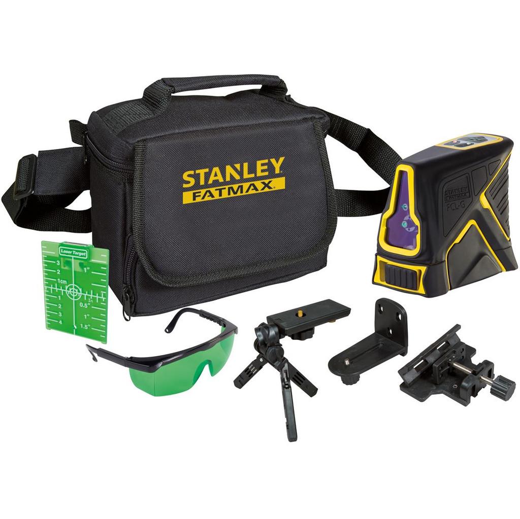 Stanley FatMax FCL-G Kruislijnlaser Reikwijdte (max.): 20 m Kalibratie: Zonder certificaat
