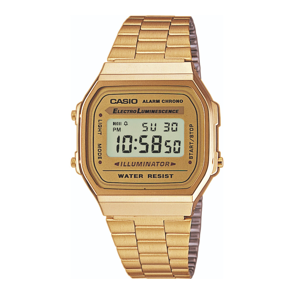 Casio Retro A168WG-9EF in Gaast