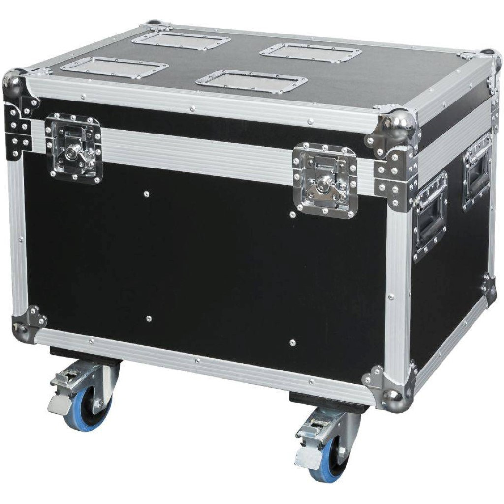 DAP D7049 Flightcase voor 4x Showtec Shark, Wash, Zoom of Combi in Melderslo