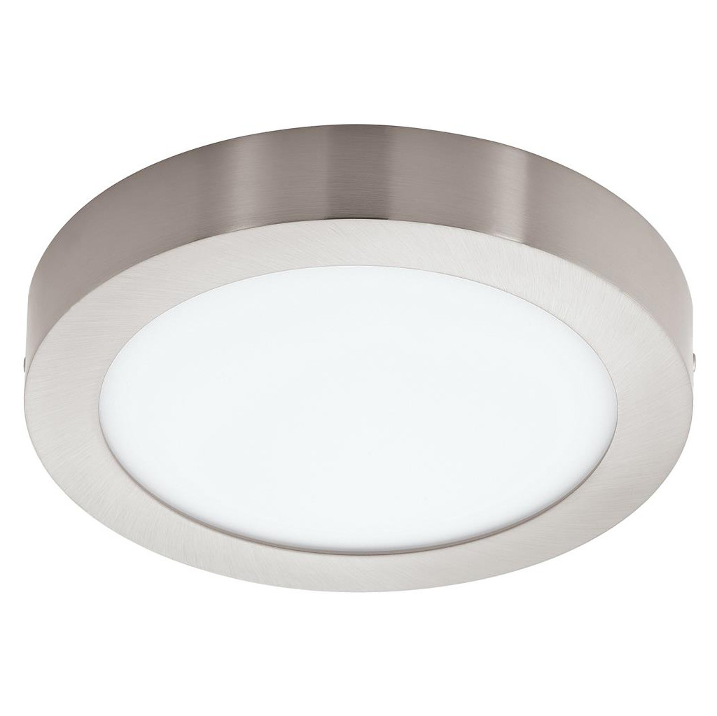 Image of Eglo Connect White and Color Fueva-C Rond Zilver