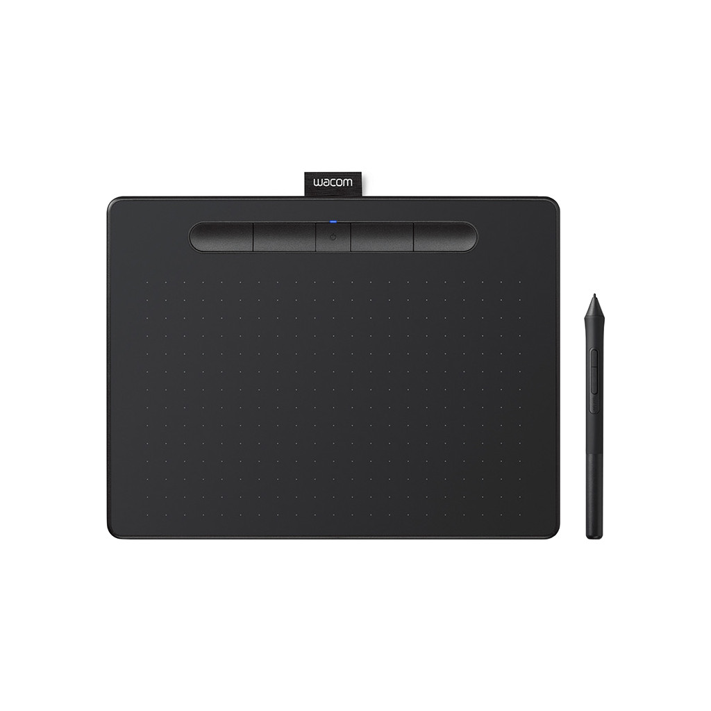 Wacom Intuos M Bluetooth 2540lpi 216 x 135mm USB-Bluetooth Zwart grafische tablet