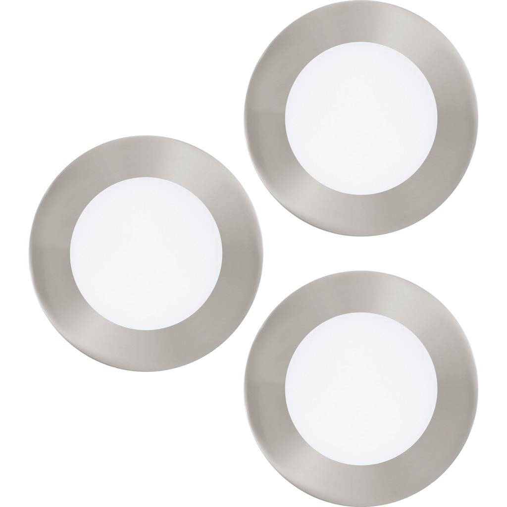 Image of Eglo Connect White and Color Fueva-C Spot 3 stuks Zilver