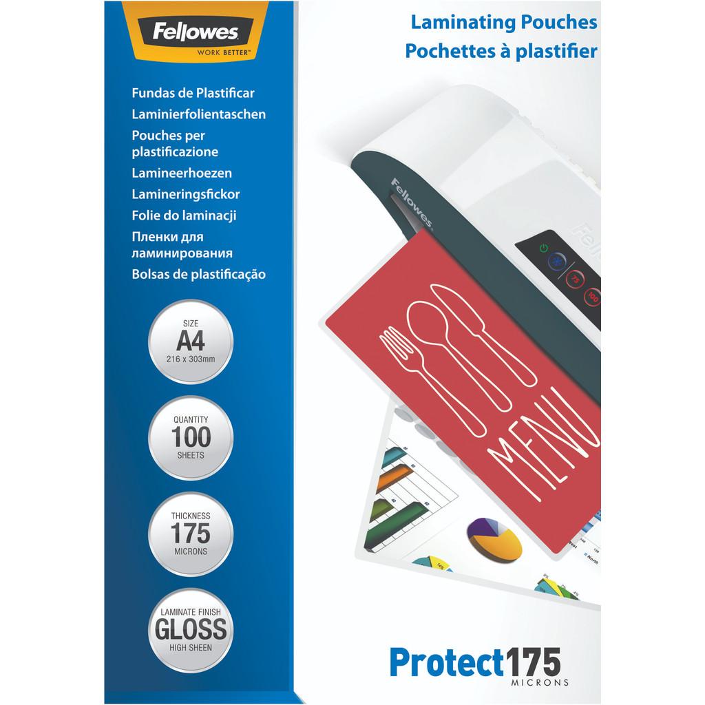 Fellowes Lamineerhoezen Protect 175 mic A4 (100 stuks) in Scheggertdijk