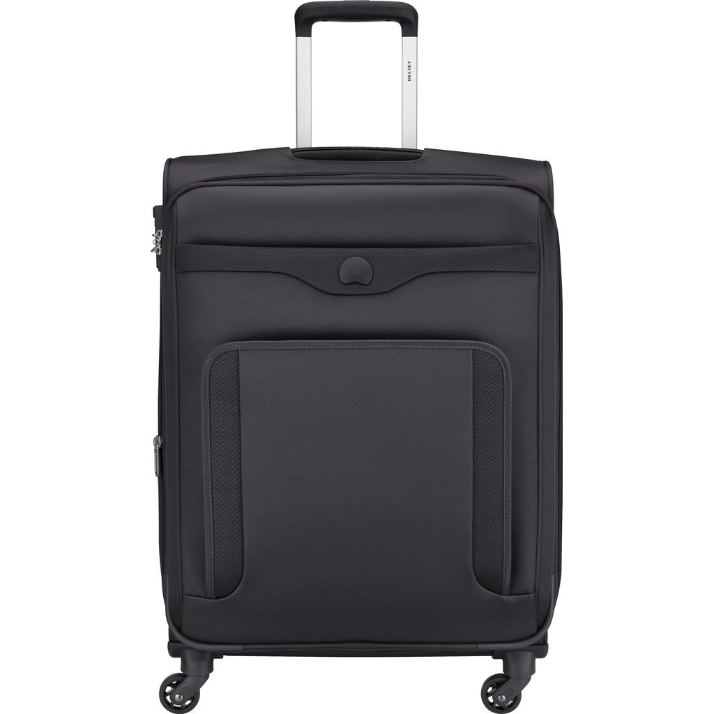 Afbeelding van Delsey Baikal Expandable Spinner 65cm Antracite koffer