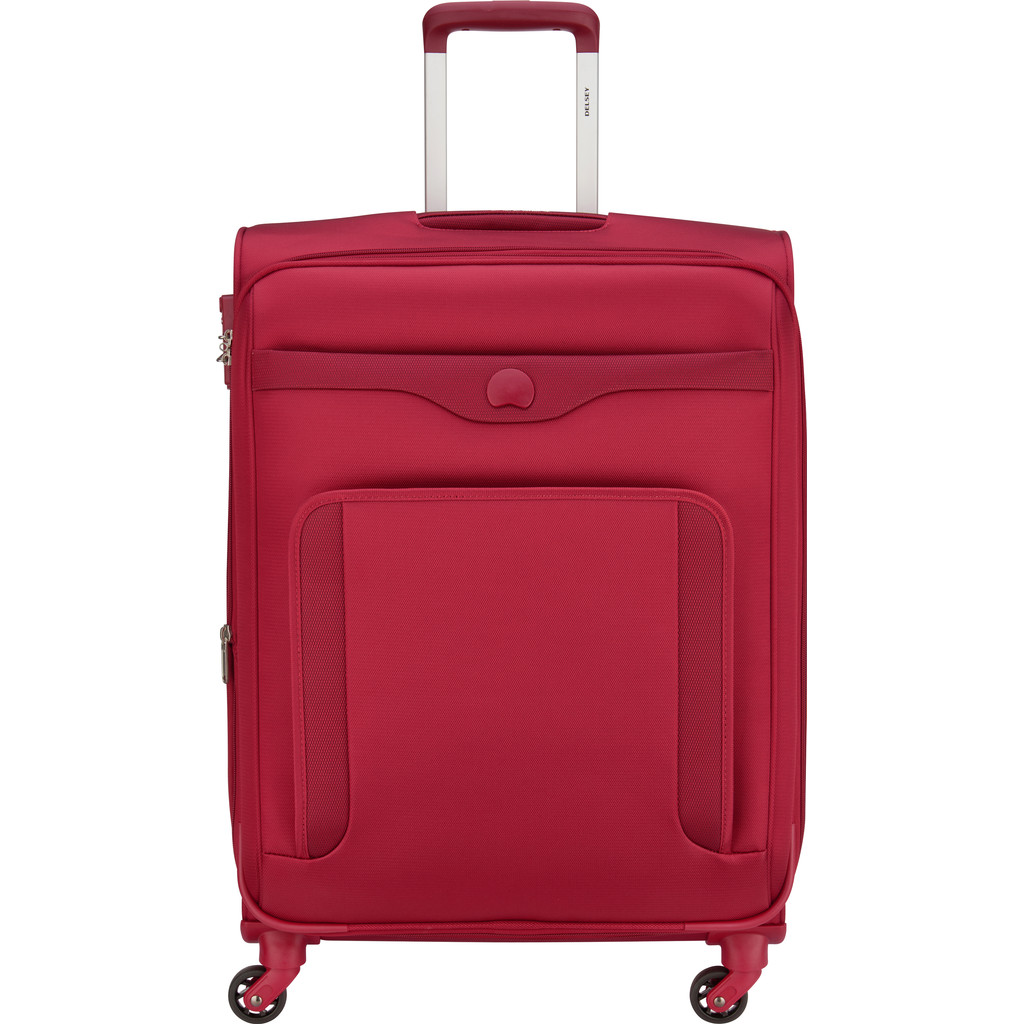 Afbeelding van Delsey Baikal Expandable Spinner 65cm Red koffer