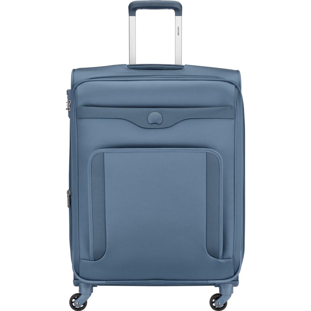 Afbeelding van Delsey Baikal Expandable Spinner 65cm Light Blue koffer