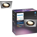 Philips Hue Centura Recessed Spot Light White & Color square aluminum