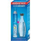 SodaStream Reservepack CO2-Cilinder + Glazen Karaf