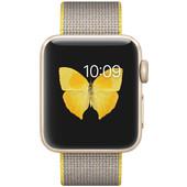 Apple Watch Series 2 38mm Goud Aluminium/Lichtgrijs Nylon