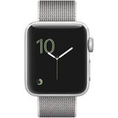 Apple Watch Series 2 38mm Zilver Aluminium/Parelgrijs Nylon