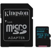 Kingston microSDXC Canvas Go! 64GB 90 MB / s + SD Adapter