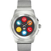 MyKronoz ZeTime 44mm Smartwatch Elite Zilver