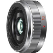Panasonic Lumix G 20mm f/1.7 II Silver
