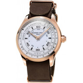 Frederique Constant Horological Chronograph White / Brown