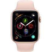 Apple Watch Series 4 44mm Goud Aluminium/Roze Sportband