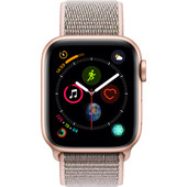 Apple Watch Series 4 40mm Gold Aluminum/Pink Sand Nylon Sport Band
