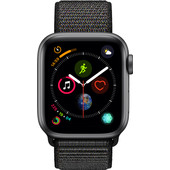 Apple Watch Series 4 40mm Space Gray Aluminum/Black Nylon Sport Band