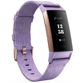 Fitbit Charge 3 Special Edition Lavender Aluminum
