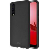 Azuri Flexible Sand Huawei P20 Pro Back Cover Black