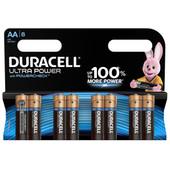 Duracell Ultra Power alkaline AA batteries 8 pieces