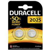 Duracell Specialty 2025 Lithium button cell battery 3V 2 pieces