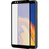 Azuri Curved Tempered Glass Samsung Galaxy J4 Plus Screen Protector Glass Black