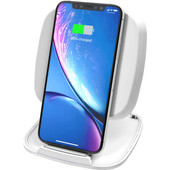 ZENS Single Fast Wireless Charger Stand 10W White