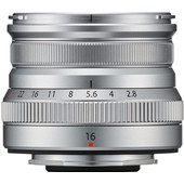 Fujifilm XF16mm f/2.8 R WR Silver