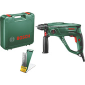 Bosch PBH 2100 Universal + 4-piece SDS-Plus drill and chisel set
