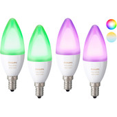 Philips Hue White and Color E14 2x Duopack