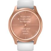 Garmin Vivomove Style - Rosé Goud/Wit - 42 mm