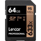 Lexar SDXC Professional UHS-I 633x 64GB