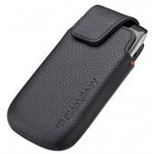 BlackBerry Leather Pocket Black 9860