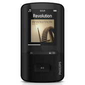 Philips GoGear Vibe 4 GB Zwart