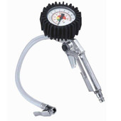 Pistol grip tire inflators