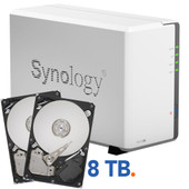 Synology DS214se + 8 TB