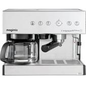 Magimix L'Expresso & Filtre Automatic 11423 Mat Chroom
