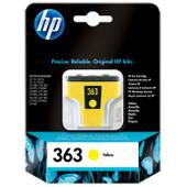 HP 363 Cartridge Geel (C8773EE)