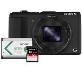 Sony CyberShot HX50V + Geheugen + Accu