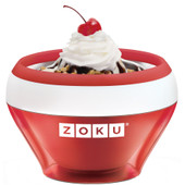 Zoku Ice Cream Maker Rood