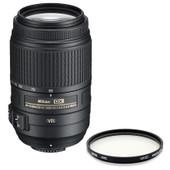 Nikon AF-S 55-300mm + UV-filter