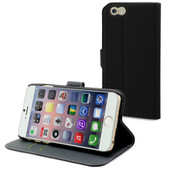 Muvit Wallet Case Apple iPhone 6 Plus Zwart