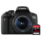 Canon EOS 750D + Geheugen