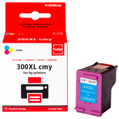 Huismerk HP 300 Cartridge 3-Kleuren XL (Pixeljet - CC644E)