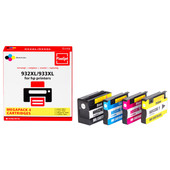 Huismerk HP 932/933 Cartridge 4-Kleuren XL (Pixeljet - C2P42AE)