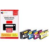 Huismerk HP 950/951 Cartridge 4-Kleuren XL (Pixeljet - C2P43AE)