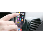 Dashboard clips for phone holders